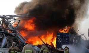 Ammonium nitrate gây ra vụ nổ ở Beirut nguy hiểm ra sao?