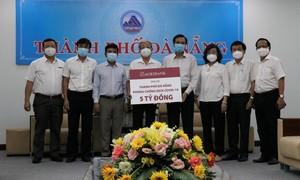 Agribank ủng hộ Đà Nẵng 5 tỷ đồng phòng chống dịch Covid-19