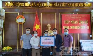 Tập đoàn FVG ủng hộ Bệnh viện tại Quảng Nam 1 tỷ đồng