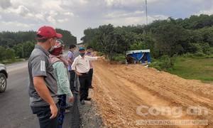 """Vụ thi công đường 1.000 tỷ làm """"khổ dân"""": UBND tỉnh chỉ đạo kiểm tra"""