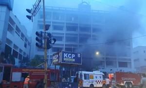 Hỏa hoạn tại cơ sở điều trị nCoV ở Ấn Độ, 7 người chết