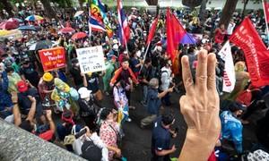 Thấy gì qua làn sóng biểu tình đòi cải tổ thể chế quân chủ ở Thái Lan?