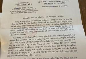 """Tìm ra kẻ """"bôi nhọ"""" các trường Đại học ở Đà Nẵng"""