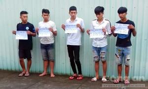 Bắt 7 đối tượng tuổi teen, gây ra hàng loạt vụ cướp liên tỉnh