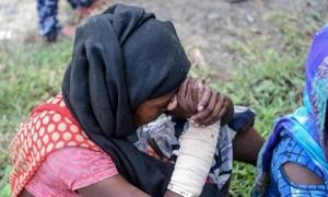 Bé gái 12 tuổi bị chôn vùi dưới núi rác cao gần 30 mét