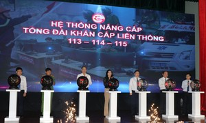 TPHCM: Ra mắt hệ thống tổng đài khẩn cấp liên thông 113- 114 - 115