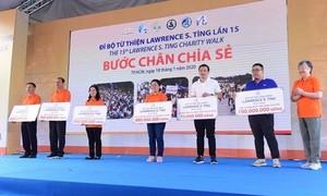 Đi bộ Từ thiện Lawrence S. Ting lần 16 – 2021: Bước chân chia sẻ