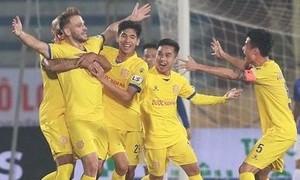 Clip Nam Định đè bẹp Hà Nội ở trận ra quân V-League 2021