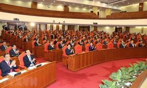 Thông qua danh sách ứng cử các chức danh lãnh đạo chủ chốt khoá XIII với số phiếu tập trung rất cao