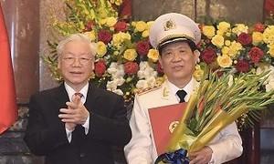 Thăng quân hàm Thượng tướng cho Thứ trưởng Bộ Công an Nguyễn Văn Sơn