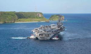 Nhóm tác chiến tàu sân bay Mỹ vào Biển Đông, lần đầu dưới thời Biden