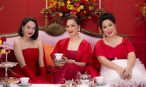 Lê Khanh, Hồng Vân lần đầu chúc Tết bằng MV rap