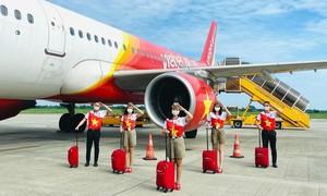 Vietjet khôi phục 48 đường bay nội địa đón khách