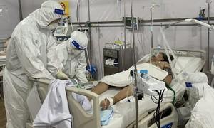 Bệnh viện dã chiến đa tầng quận Tân Bình: Cứu nhiều bệnh nhân nguy kịch