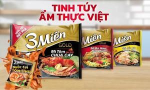 3 Miền là thương hiệu mì Việt được người tiêu dùng ưa chuộng