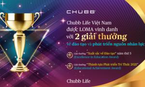 Chubb Life Việt Nam vừa được LOMA vinh danh