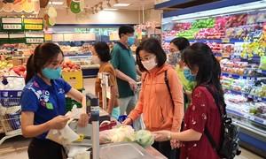 Siêu thị Co.opmart Chu Văn An hoạt động bình thường và đang khuyến mãi Tết