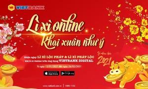 Tết online cùng mobile banking Vietbank Digital vượt qua Covid 19