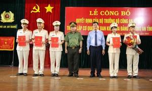 Thành lập Cơ quan Ủy ban kiểm tra Đảng ủy Công an tỉnh An Giang