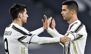 Clip Ronaldo ghi bàn góp công lớn vào chiến thắng cho Juventus
