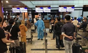 Hai chuyến bay đưa công dân từ Myanmar về nước đã hạ cánh xuống Đà Nẵng