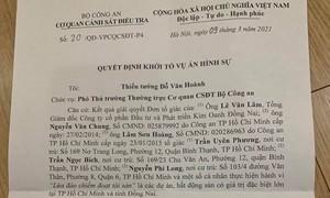 Khởi tố vụ án lừa đảo liên quan đơn tố cáo 2 ái nữ của Chủ tịch Tập đoàn Tân Hiệp Phát