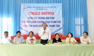 Phó Thủ tướng Trương Hòa Bình thăm Trung tâm nuôi dạy trẻ khuyết tật