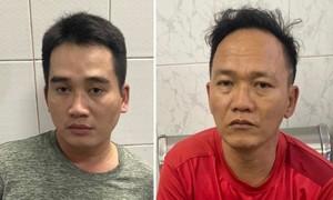 Bắt 2 kẻ gian trộm tài sản của đôi nam nữ tâm sự trong công viên