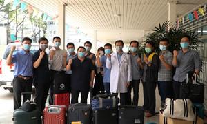 Đội phản ứng nhanh Bệnh viện Chợ Rẫy đến Kiên Giang hỗ trợ chống dịch