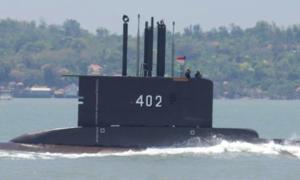 """Phát hiện vật thể """"bí ẩn"""" nghi tàu ngầm Indonesia mất tích"""