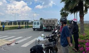 Xe ben tông xe máy trong KCN Giang Điền, 1 người tử vong