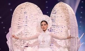 Video phần thi trang phục dân tộc của Khánh Vân ở Miss Universe