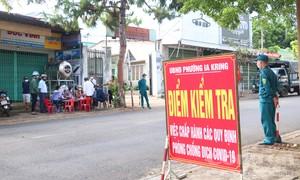 Thành phố Pleiku giãn cách theo Chỉ thị 15 từ 8 giờ ngày 26-7