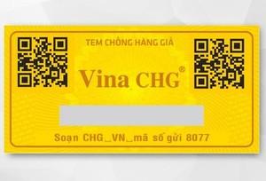 Vina CHG ra mắt tem chống hàng giả công nghệ số