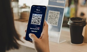 """Chuyển tiền nhanh chỉ cần quét mã VietQR trên ứng dụng """"digimi"""" của Bản Việt"""