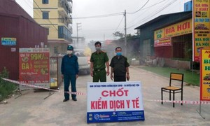 Nhiều khu vực ở TP.Thuận An, Bình Dương giãn cách xã hội theo Chỉ thị 16