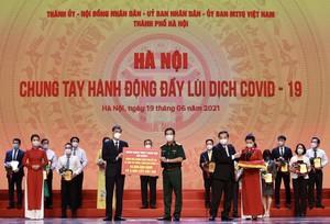 """MB """"tiếp sức"""" 10 tỷ đồng cùng Hà Nội chiến thắng COVID-19"""