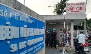 Bệnh nhân điều trị 14 ngày tại Bệnh viện Sa Đéc, phát hiện nghi nhiễm Covi-19