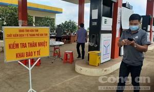 Gia Lai: Phụ xe tải vi phạm cam kết phòng chống dịch, có thể bị khởi tố