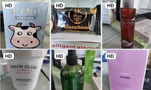 Phát hiện hàng ngàn chai nước hoa, mỹ phẩm nghi nhập lậu ở Sài Gòn