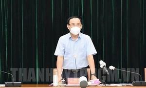 TPHCM: Quyết tâm kiểm soát tình hình dịch bệnh trong thời gian sớm nhất