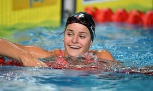 Kỷ lục Olympic bị phá 3 lần trong chưa tới 10 phút