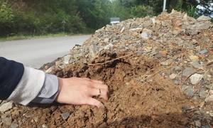 Đà Lạt: Nhà thầu thi công đường đèo Mimosa sử dụng vật liệu không đảm bảo