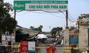 Chợ đầu mối ở Hà Nội tạm phong tỏa vì có ca nghi mắc COVID-19