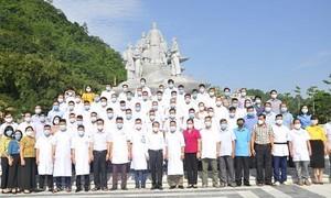 Đoàn y bác sĩ tỉnh Hà Giang vào TPHCM hỗ trợ chống dịch COVID-19