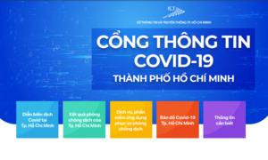 TPHCM ra mắt cổng thông tin COVID-19 tích hợp nhiều thông tin hữu ích