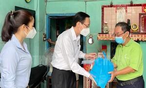 """TPHCM: Chốt tự quản bảo vệ """"vùng xanh"""" phát huy hiệu quả phòng chống dịch"""