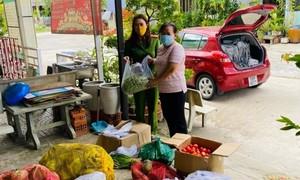 Văn phòng Cơ quan CSĐT Bộ Công an tặng 14 tấn rau quả cho người nghèo