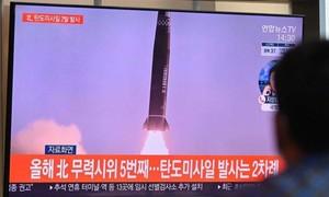 Hàn - Triều cùng phóng tên lửa đạn đạo khi căng thẳng gia tăng