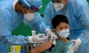 Campuchia khởi động việc tiêm vaccine Covid-19 cho trẻ em